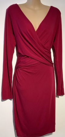 ENVIE DE FRAISE RASPBERRY PINK MATERNITY & NURSING JERSEY DRESS SIZE 12/14